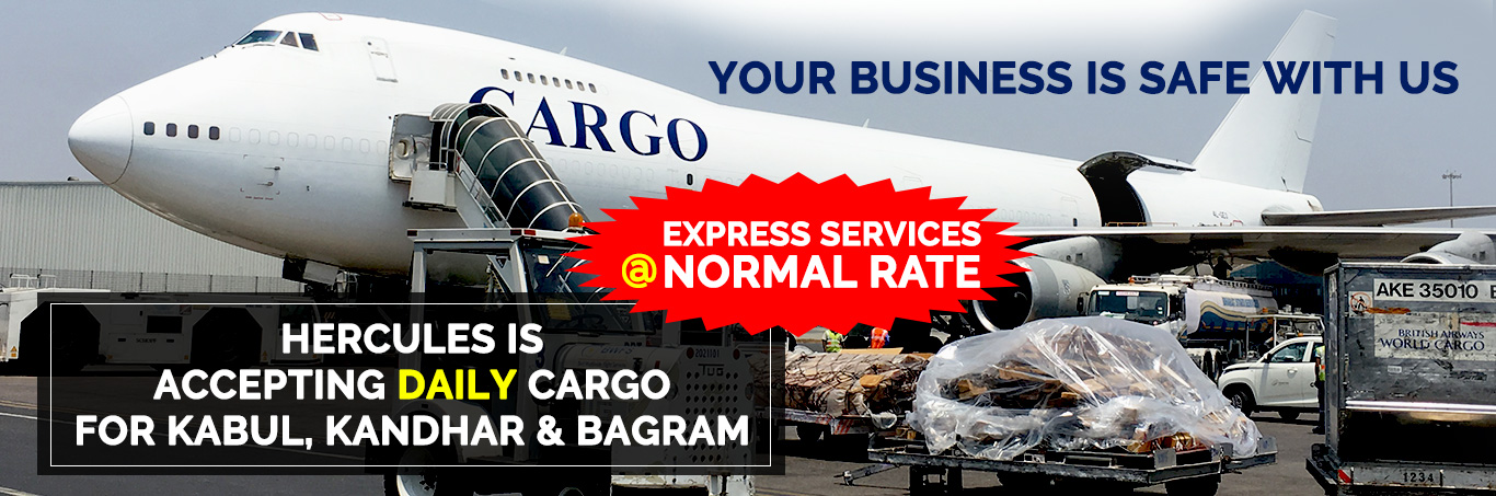 Hercules Aviation Specialist in Providing all types of Aircraft for your Air Cargo Charters Requirements